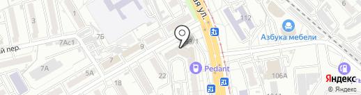 КОНТО ДВ на карте Хабаровска