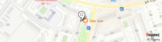 Вуз ДВ на карте Хабаровска