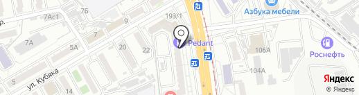 Чисто-ДВ на карте Хабаровска