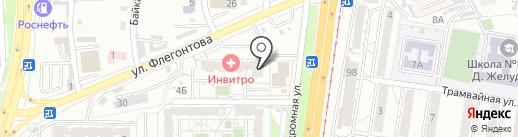 Служба эвакуации автомобилей на карте Хабаровска