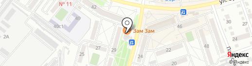 АЙОС-СЕРВИС на карте Хабаровска