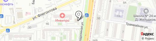 Каспер на карте Хабаровска