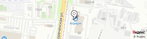 Банкомат, Банк Финансовая корпорация Открытие, ПАО на карте Хабаровска