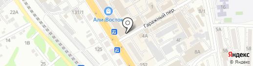 Trend city на карте Хабаровска