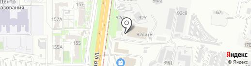 Кросс-кид на карте Хабаровска