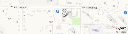 Водолей на карте Ильинки