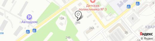 Toni avto на карте Хабаровска