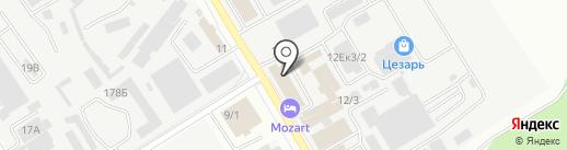 Сытый Тони на карте Хабаровска