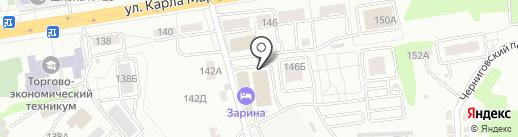 Intimdv на карте Хабаровска