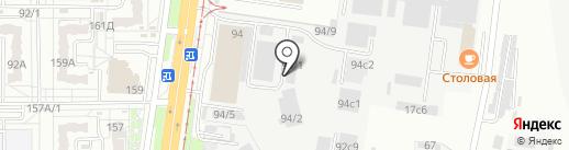 ХК Синергия на карте Хабаровска