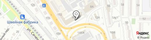 ДвериСток на карте Хабаровска