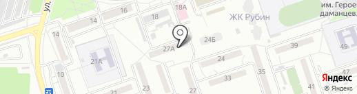 Tool-Ha на карте Хабаровска