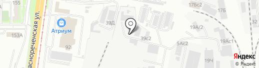Транс-ДВ-Логистик на карте Хабаровска