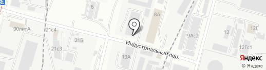Мебельный №1 на карте Хабаровска