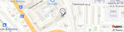 Банкомат, Россельхозбанк на карте Хабаровска