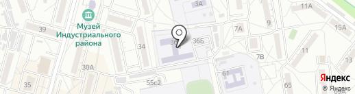 Спутник на карте Хабаровска