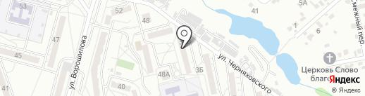 Магазин разливных напитков на карте Хабаровска