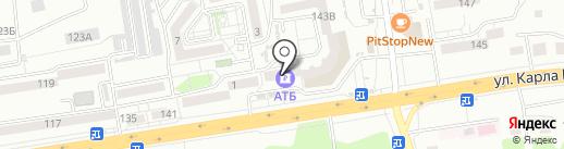 Банкомат, Азиатско–Тихоокеанский банк, ПАО на карте Хабаровска