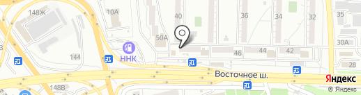 Эйфория на карте Хабаровска