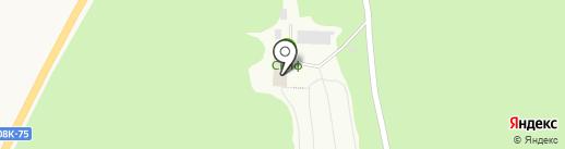 Учебно-спортивная база на карте Ильинки
