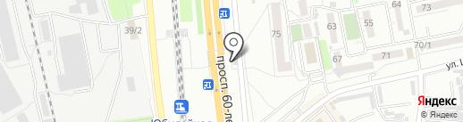Шашлычок на карте Хабаровска