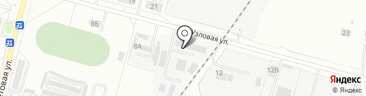 Антарэс на карте Хабаровска