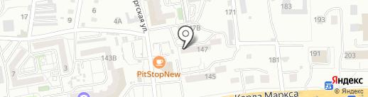 Лайнер, ТСЖ на карте Хабаровска