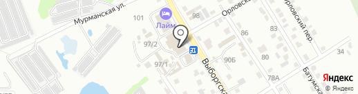Express service на карте Хабаровска
