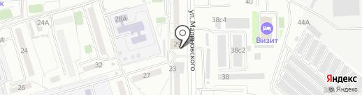 Экономька на карте Хабаровска