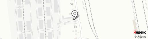Хабаровский клуб 4х4, НП на карте Хабаровска