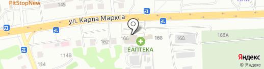 Фогот на карте Хабаровска