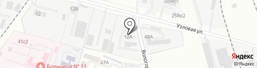 Контейнерный Сервис на карте Хабаровска