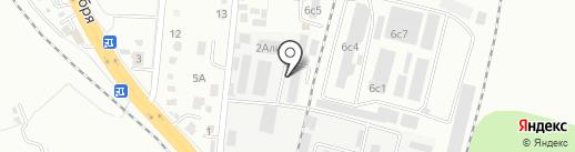 Тент-Эксперт на карте Хабаровска