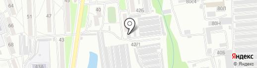 Планета Авто на карте Хабаровска