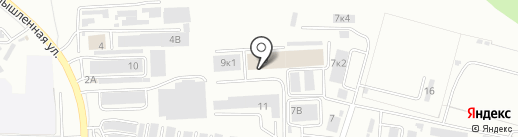 ГАЗ ВОСТОК на карте Хабаровска