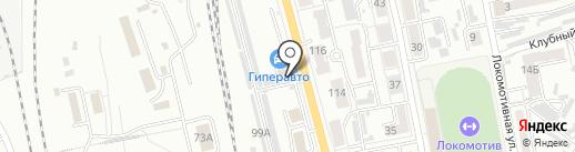 АвтоДепо на карте Хабаровска
