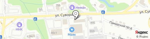 Спутник27 на карте Хабаровска