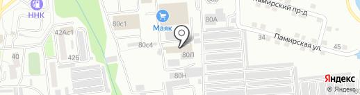 Автомиг на карте Хабаровска