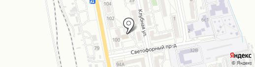 Деловой подход на карте Хабаровска