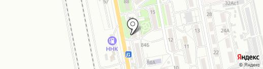 ДВ-Ареал на карте Хабаровска
