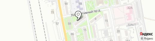 Katz nail room на карте Хабаровска