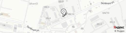 Город ДВ на карте Хабаровска