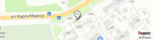 Меридиан-ДВ на карте Хабаровска