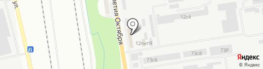 Управление промышленным производством №723 на карте Хабаровска