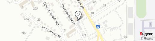 Таежный дом на карте Хабаровска