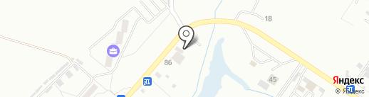Магазин пиломатериалов на карте Хабаровска