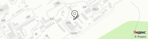 СВАКстрой на карте Хабаровска