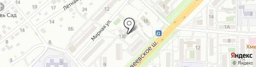 Мастерская по ремонту обуви и изготовлению ключей на карте Хабаровска