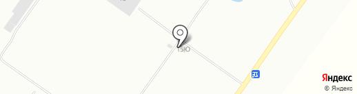 Фёдоровский на карте Хабаровска