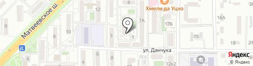 ТОЛИМАН на карте Хабаровска